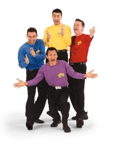 The WIggles: Are you a group of 4 really creepy dudes?  Does one of you own a red shirt? Does another one own a yellow one?  How about a purple one? Oh and a blue one too.  Learn a song  or two and you are golden.