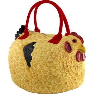 Put your junk in this hens trunk.