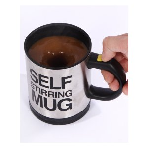 Buy your crazy friend a mug or don't be friends with people who are scared of spoons, you choose!
