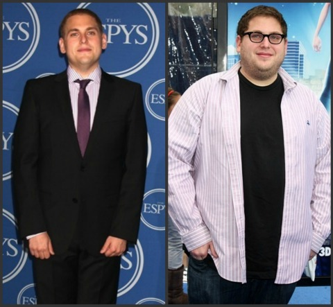 Jonah Hill skinny and fat